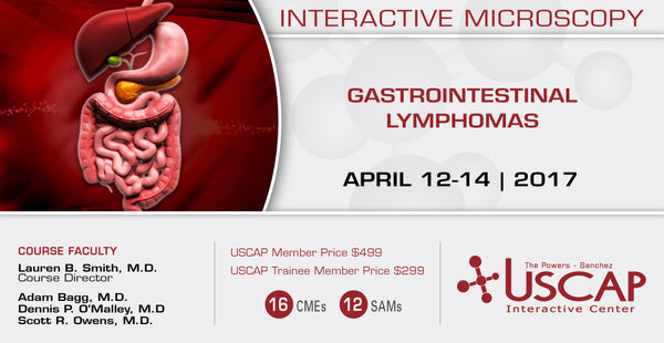 April 12-14, 2017: Gastrointestinal Lymphomas