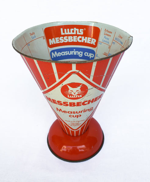 Vintage Metal Measuring Cup