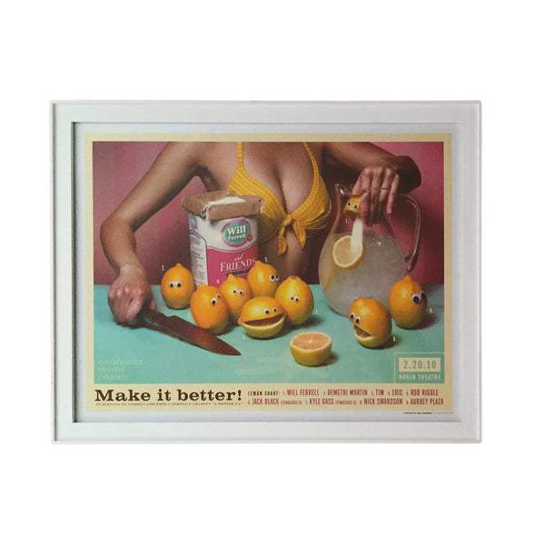 Framed Make It Better Poster by Kii Arens