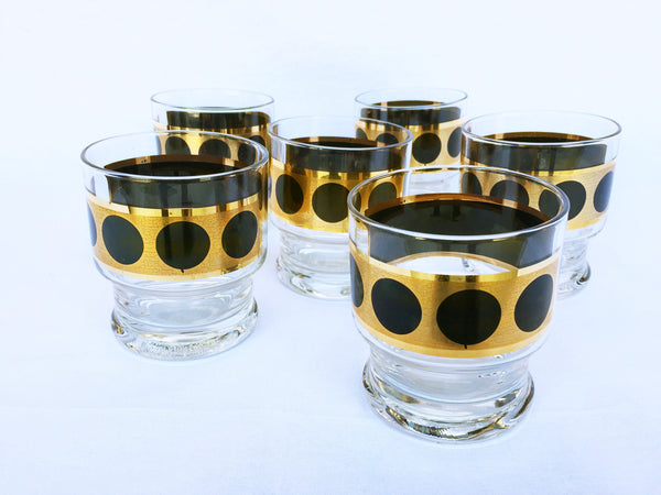 Set of Vintage Cocktail Glasses - Set of 6