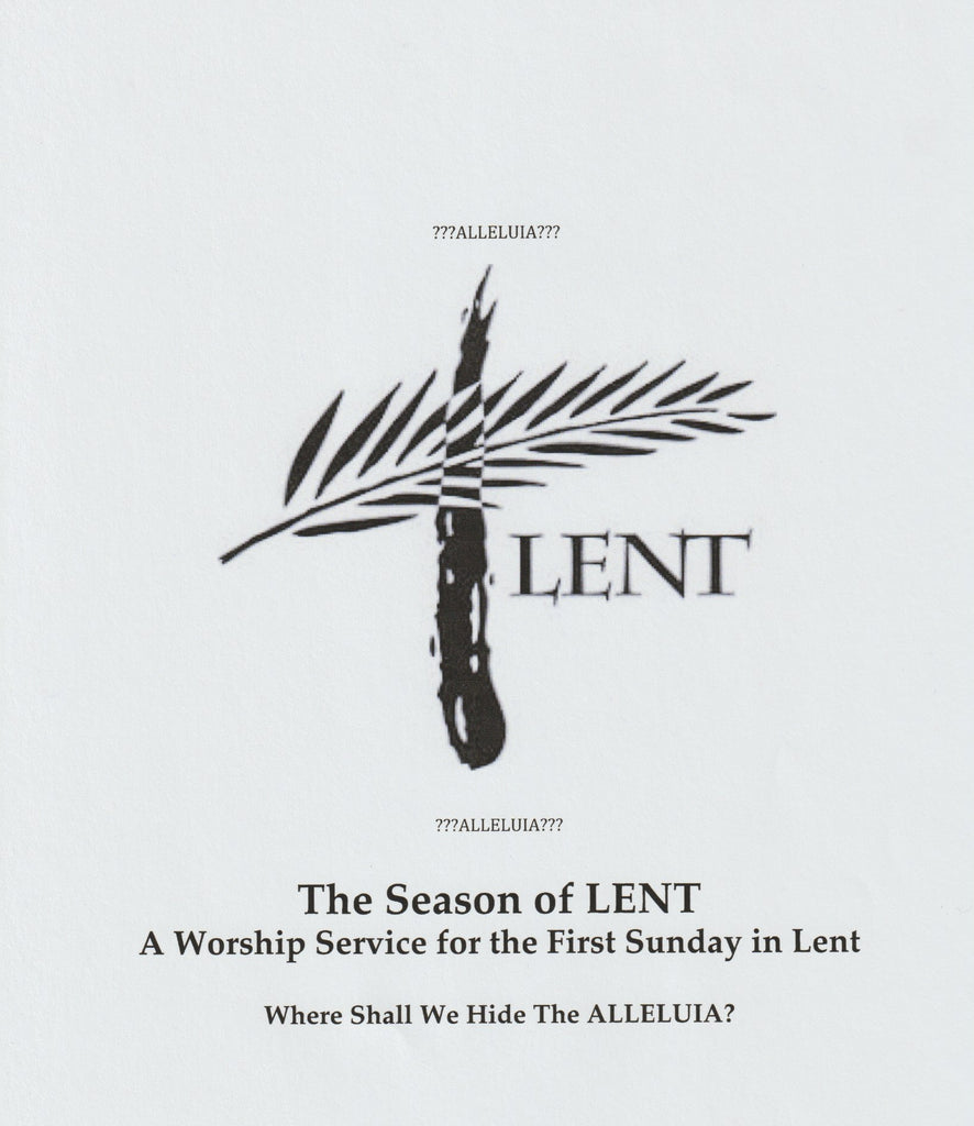 Worship Service First Sunday in Lent