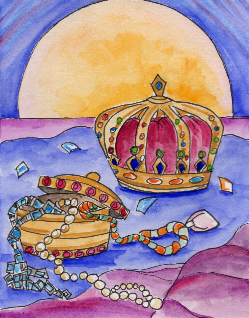 Baptismal Anniversary Card - Child of the King of Kings