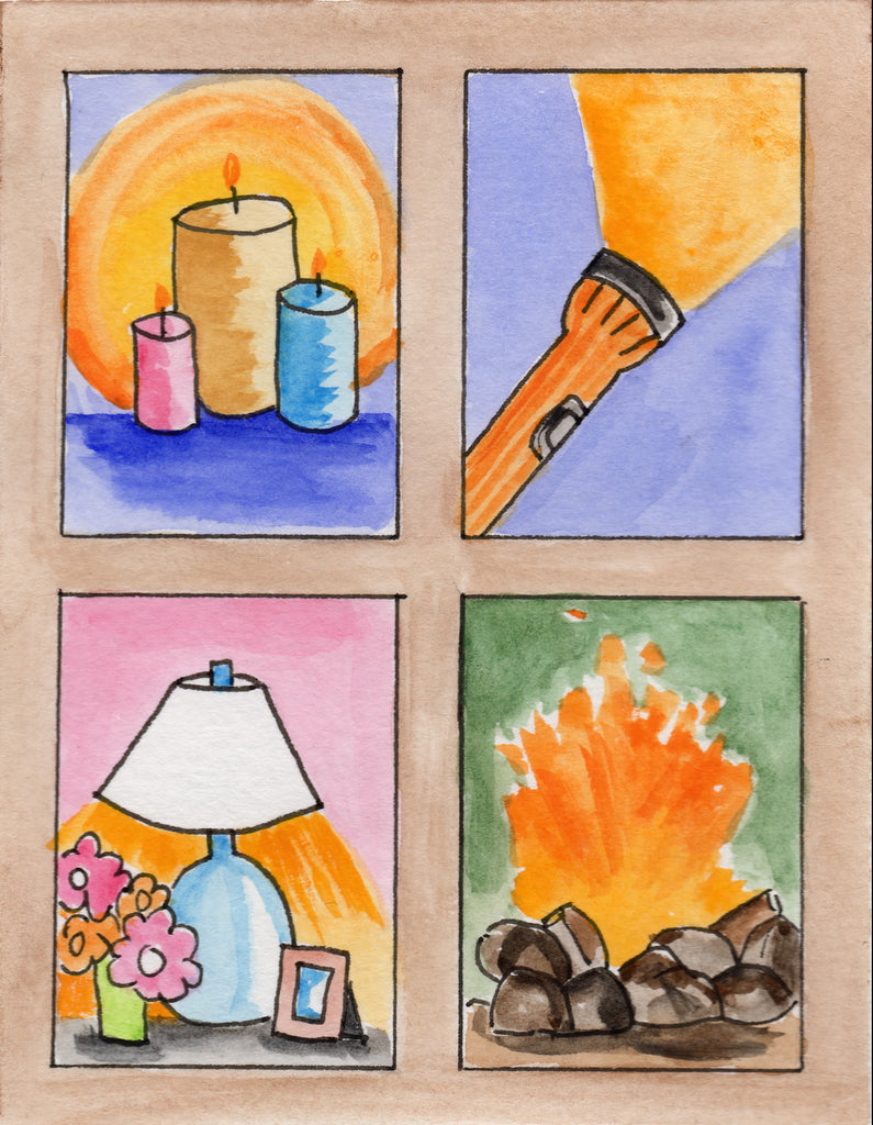 Baptismal Anniversary Cards - Light To See Through The Cross