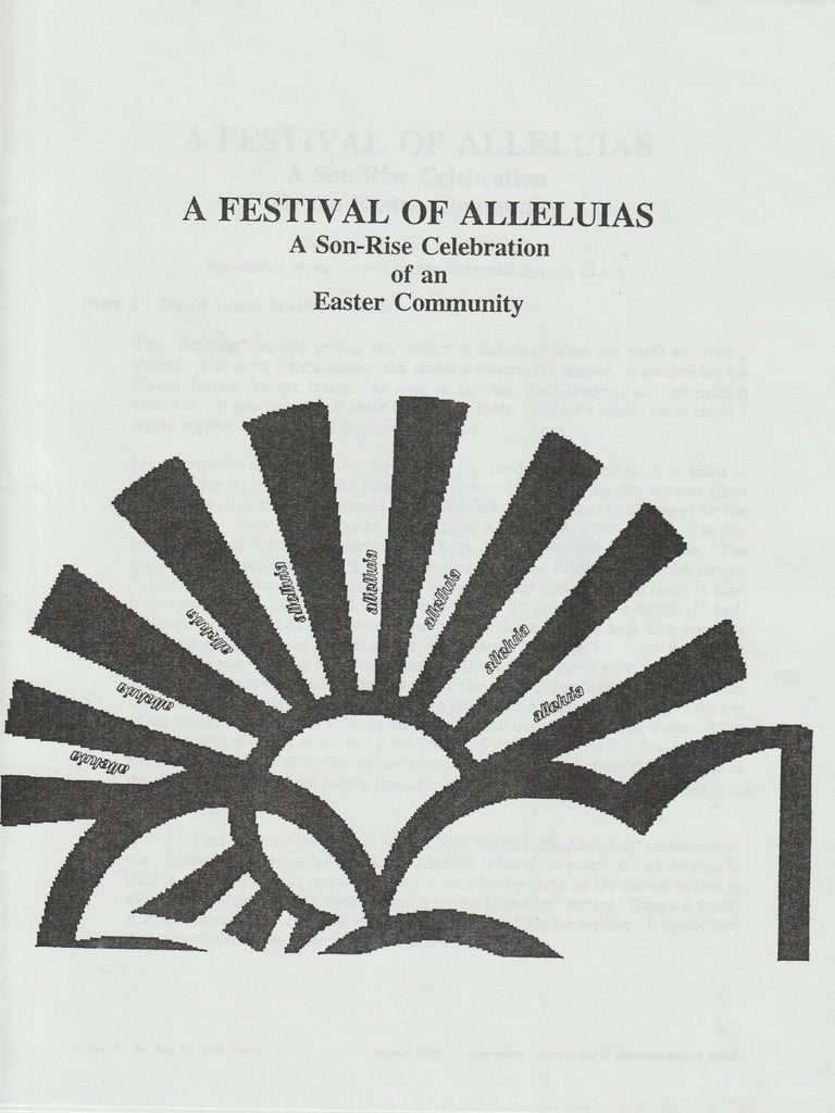 Easter Festival of Alleluias with Communion