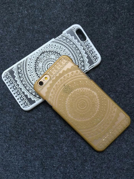 Gold Henna Aztec Phone Case