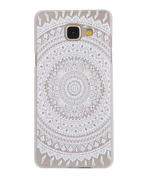 Samsung Galaxy White Henna Case