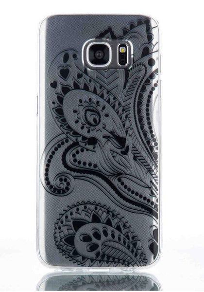 Samsung Galaxy Black Henna Case