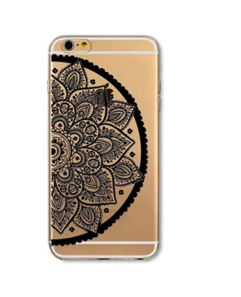iPhone 6/6S Black Henna Case