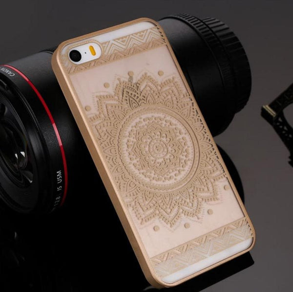 Gold Henna Floral Phone Case