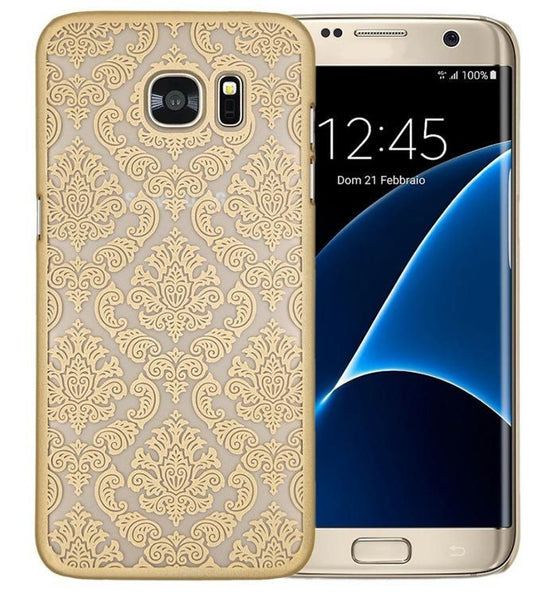 Gold Henna Damask Phone Case