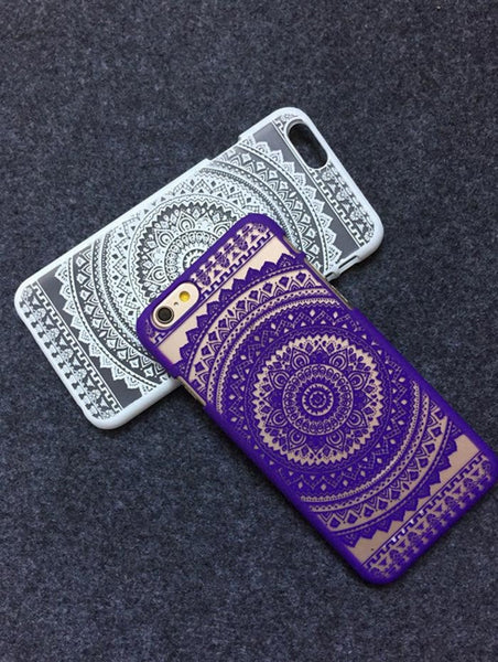 Purple Aztec Phone Case