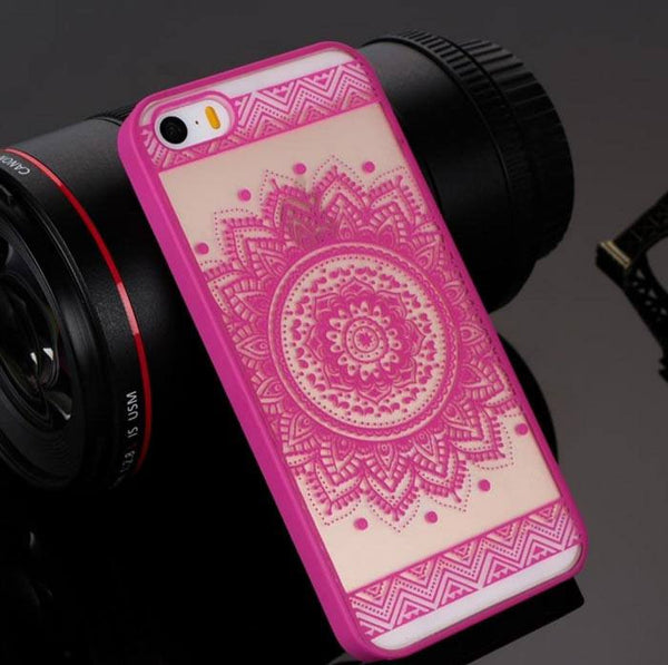 Rose Henna Floral Phone Case