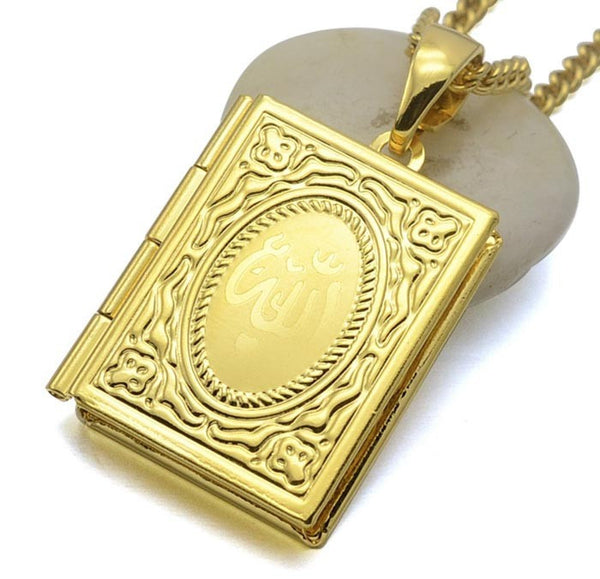 Gold Quran Necklace