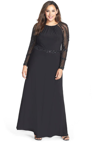 Octavia Black Gown