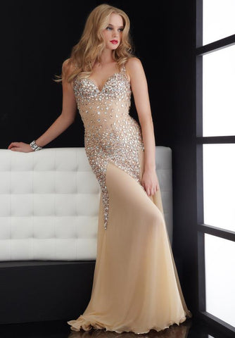 Lace Applique Gown