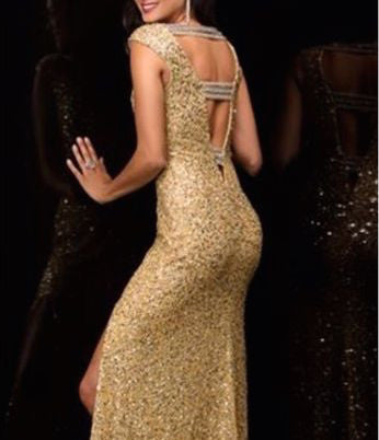 Golden Gal Gown