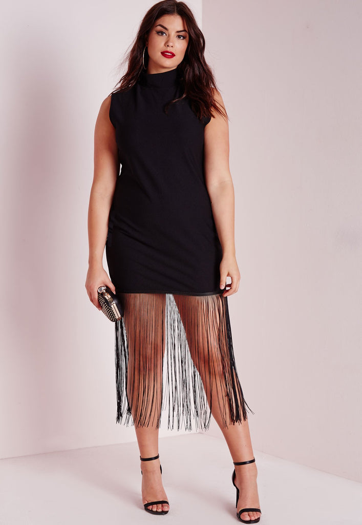 Shimmy Fringe Dress