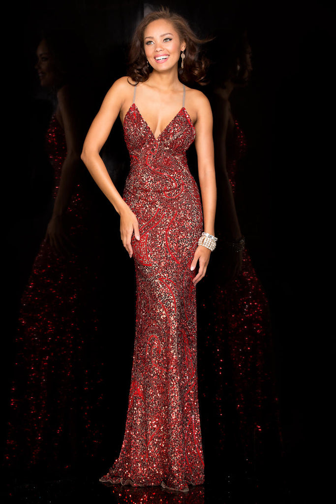 Lead Red Gown