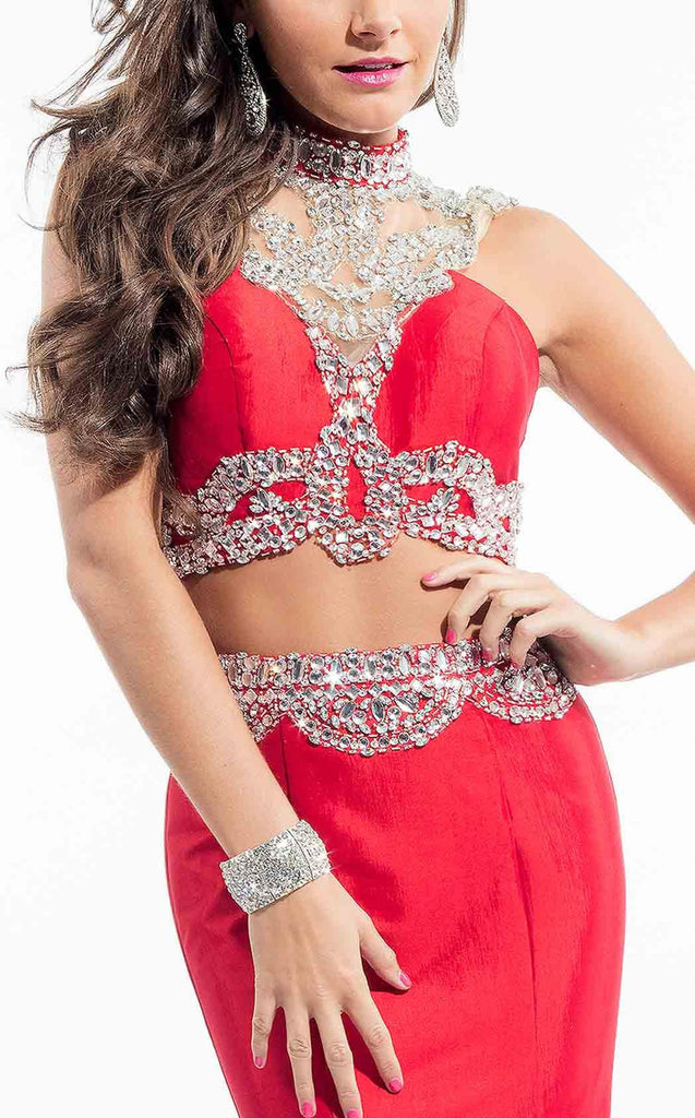 Red Crystal Two-Piece