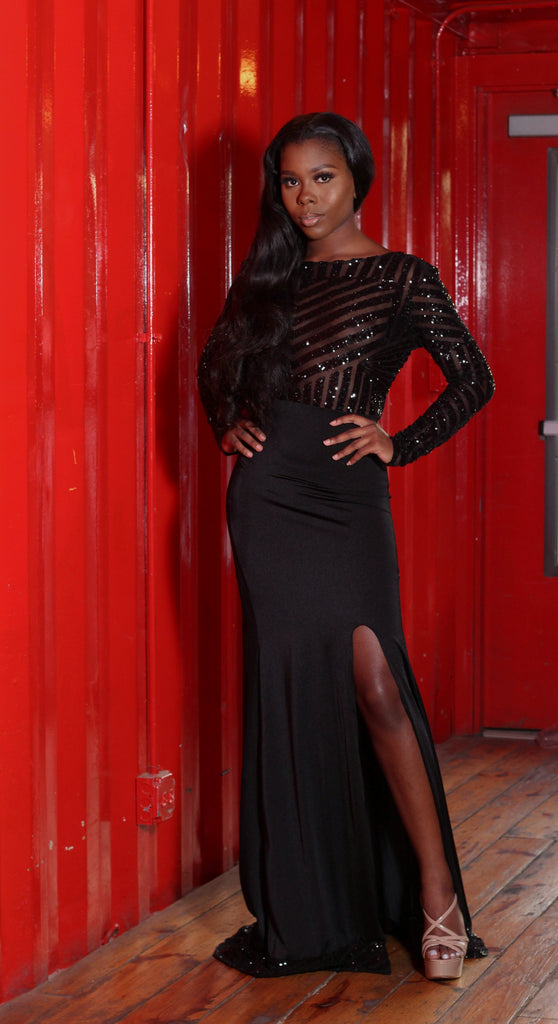 Black Vixen Gown