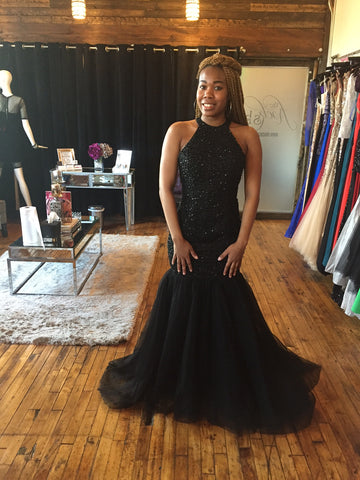 Black Diamonds Gown