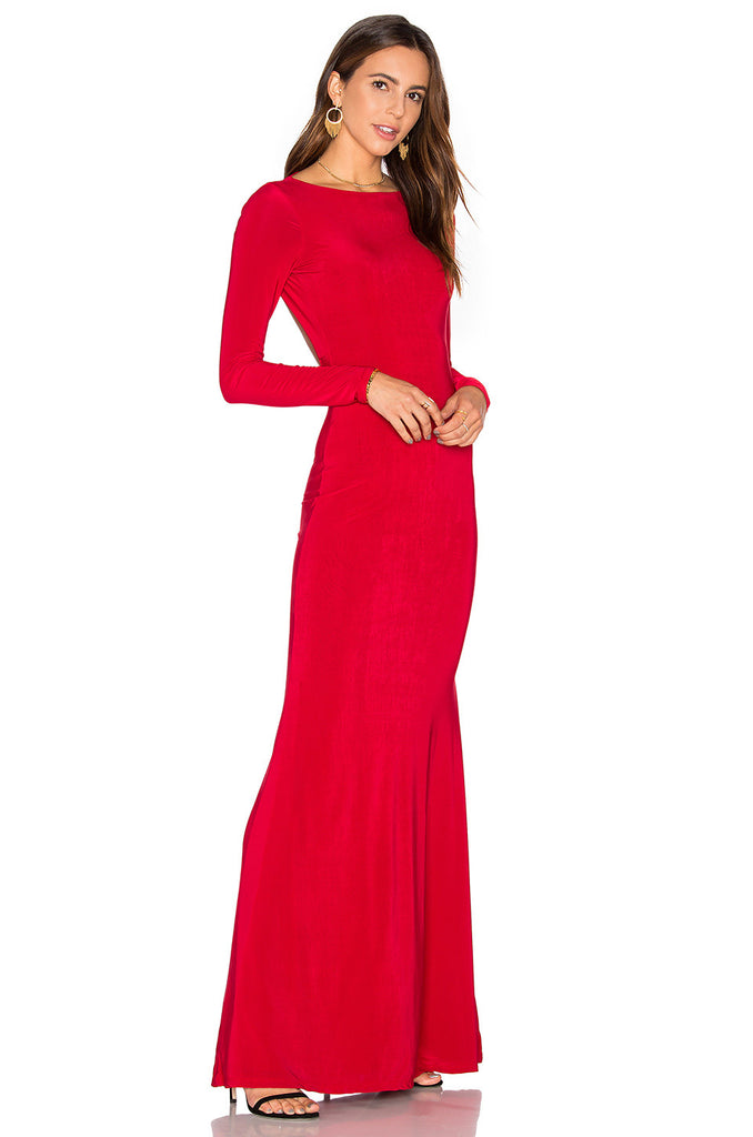Red Monaco Gown