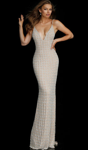 Diamond Sleeve Gown