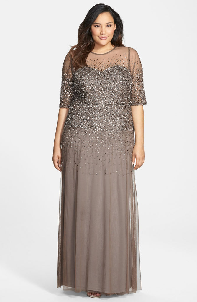 Mystique Gray Gown