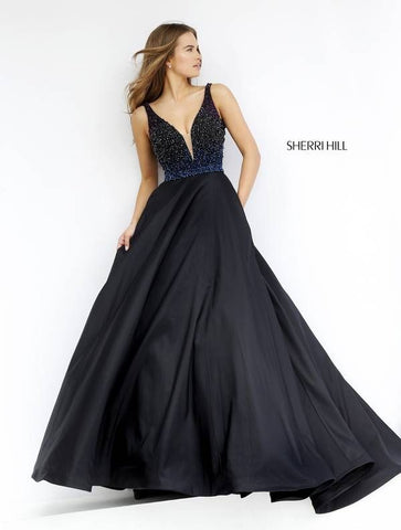 Black Twilight Gown