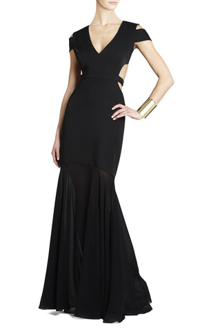 Art Deco Shine Gown