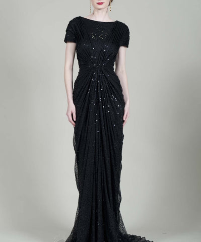 Champagne Moon Gown