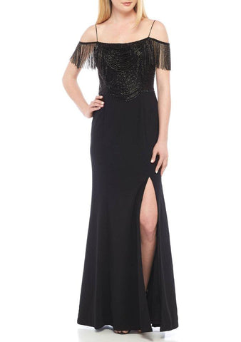 Deep V Neck Gown
