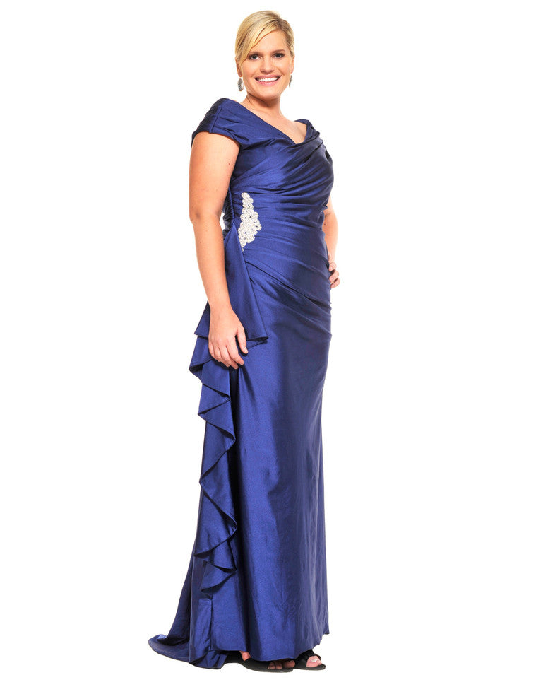 Blue Brilliance Gown