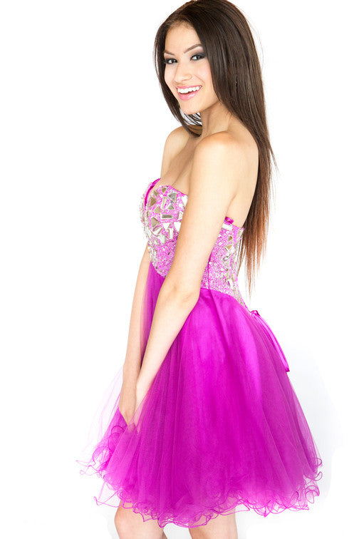 Fun Fuschia Dress