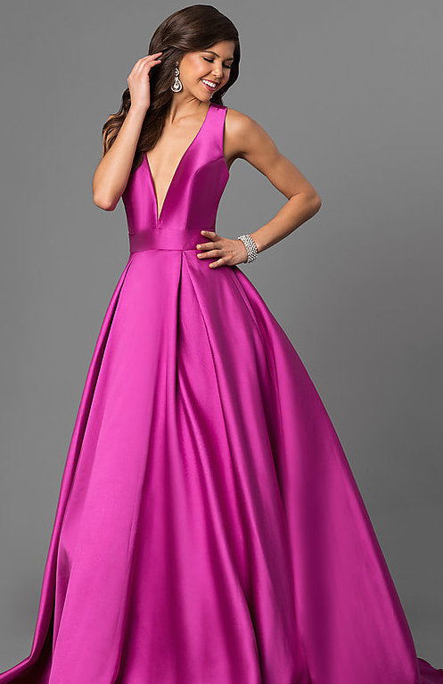 Purple Ballgown