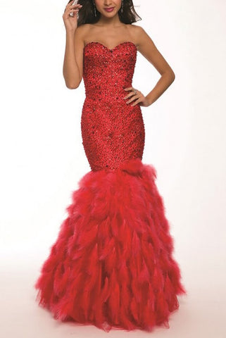 Red Ballgown 2-Piece