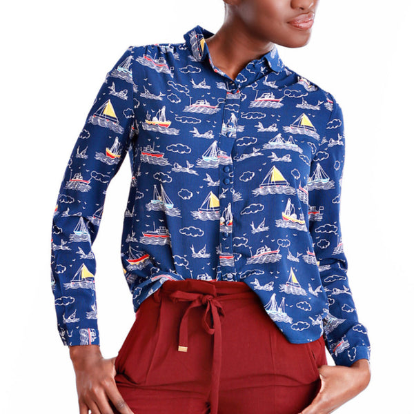 FRNCH Sailboat Shirt