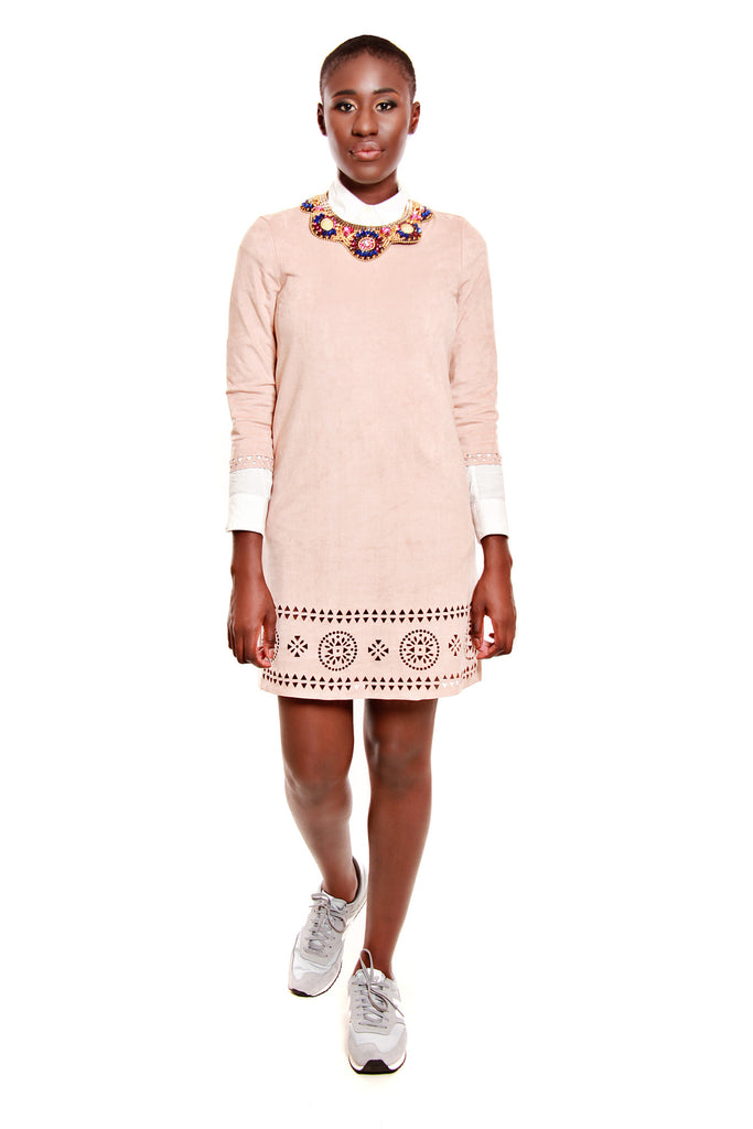 Vero Moda Laser Cut Hem Dress
