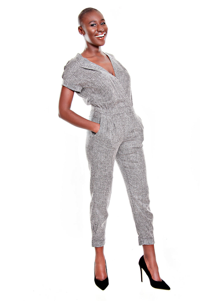 FRNCH V-Neck Jumpsuit
