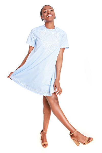 Moon River Baby Doll Dress