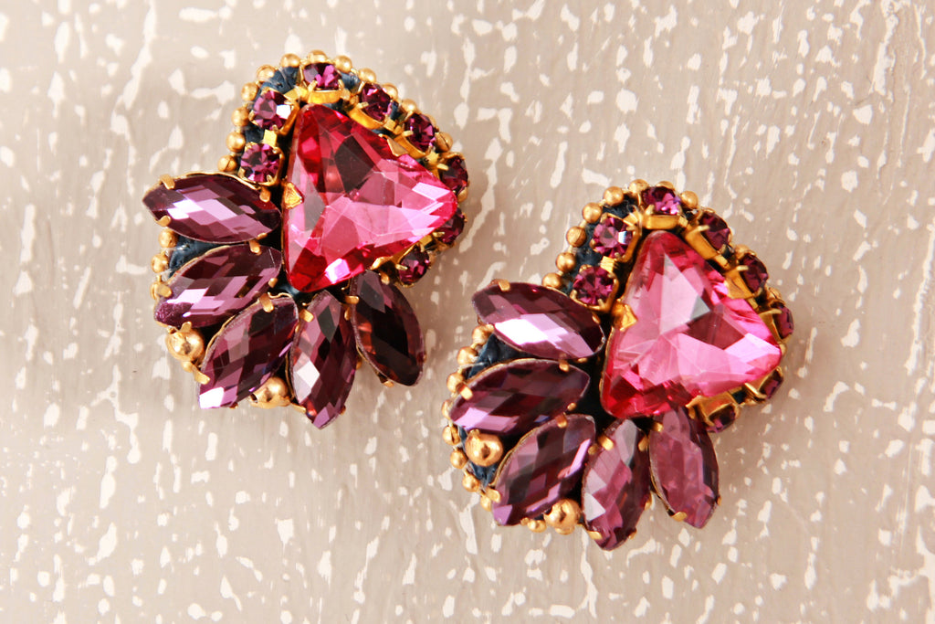 ELA DESIGN STUDIO Julz Roxy Clip On Earrings