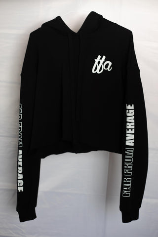 Women's FFA Crop Top Hoodie - Far From Average Inc.