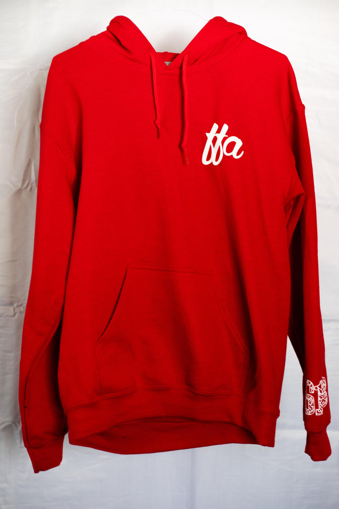 Red FFA Hoodie - Far From Average Inc.