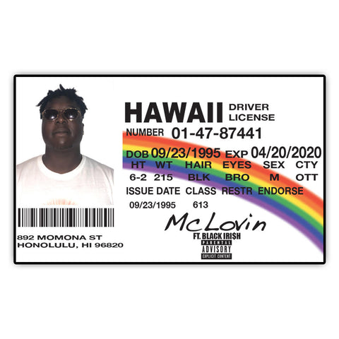 The McLovin Card - Far From Average Inc.