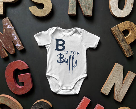 BTVS B Is For Buffy Onesie/Toddler Tee
