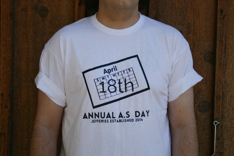 April 18th, Men's Holiday, A.S. Day, Tee/Tank Jim Jefferies Inspired