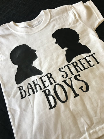 Baker Street Boys Sherlock Inspired Child / Adult Tee and Tank