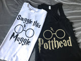 Snuggle Muggle Adult/Child Tee/Tank Harry Potter Inspired