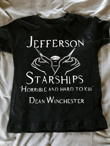 Jefferson Starship Dean Winchester Supernatural Inspired Tee/Tank