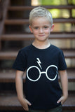 Minimalist Potter Lightening Tee/Tank/Onesie Adult/Child/Infant